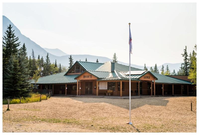 Camp Chief Hector Wedding - Canmore Alberta Wedding
