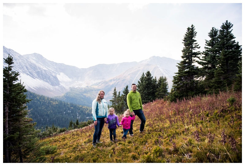 Canmore Mountain Family Photography