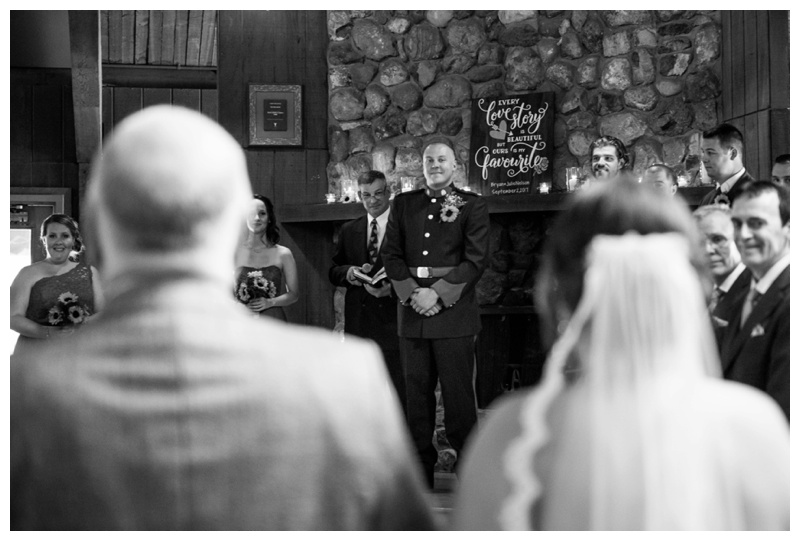 Canmore Wedding Ceremony Photography - Camp Chief Hector