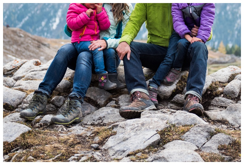 Hiking Family Photos - Canmore Family Photographer