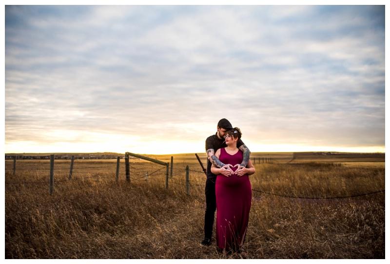 Autumn Maternity Photography Calgary
