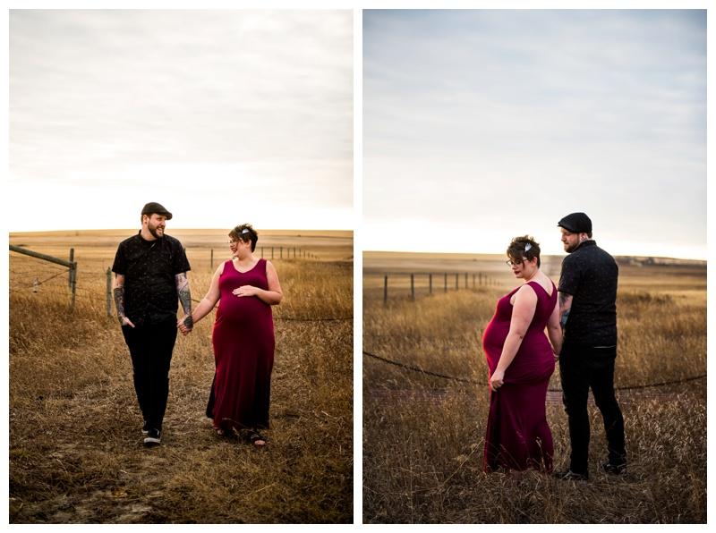 Calgary Fall Maternity Photography