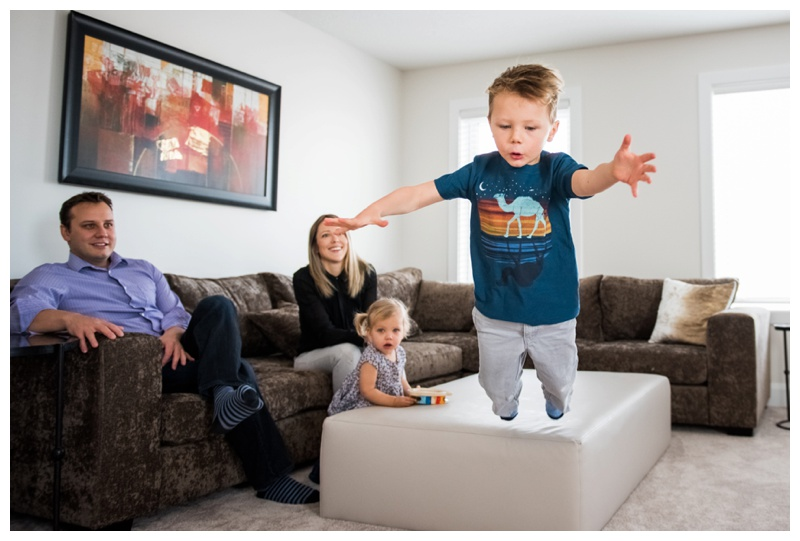 Calgary In Home Family Session