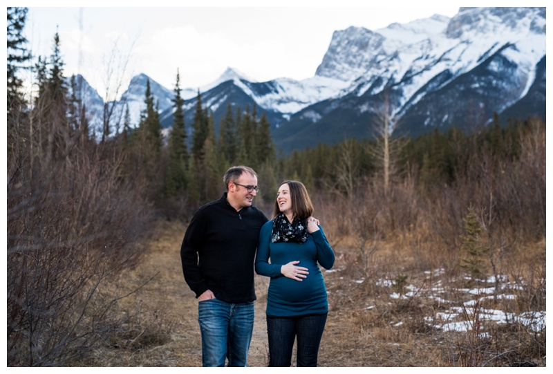 Canmore Maternity Photography Session