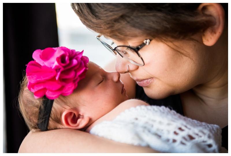 In Home Newborn Photographer Okotoks