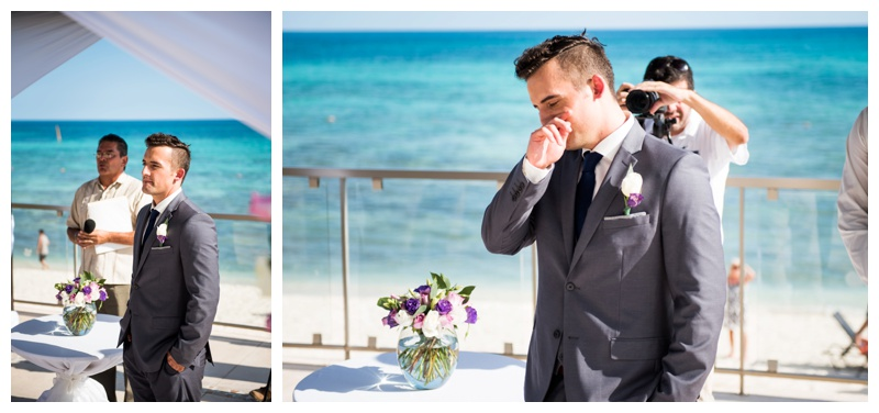 Now Jade Riviera Cancun Mexico Wedding Ceremony