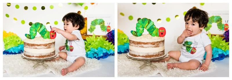 The Very Hungry Caterpillar Cake Smash
