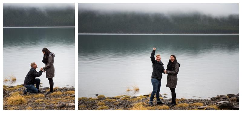 Banff Wedding Proposal Photography