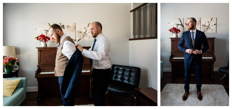 Wedding Photos - Groom Prep