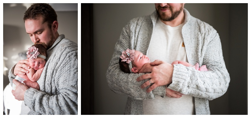 Cochrane At Home Newborn Photographer