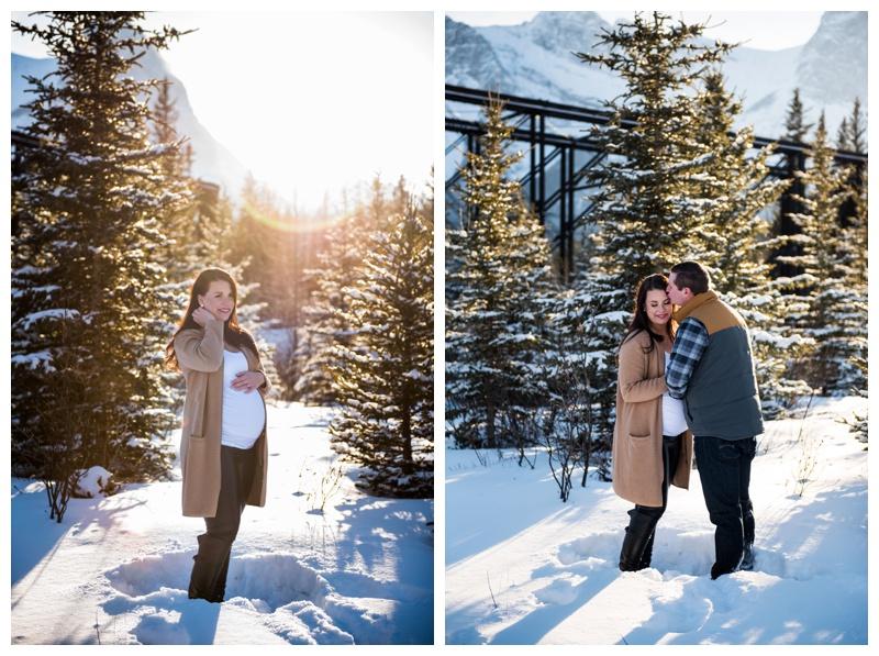 Rocky Mountain Maternity Photos Canmore