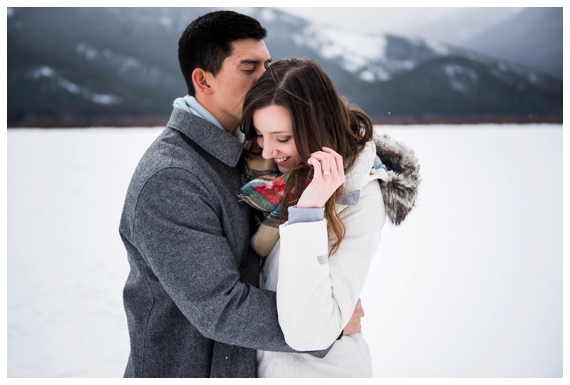 Banff Alberta Engagement Photos