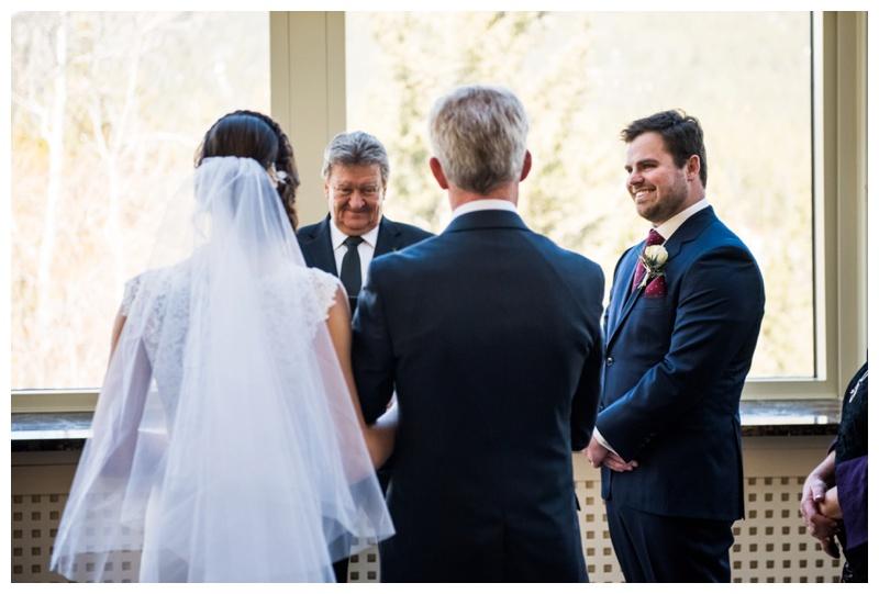 Banff Wedding Ceremony Photography