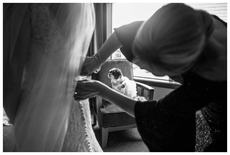 Canmore Wedding - Bridal Prep Wedding Photography