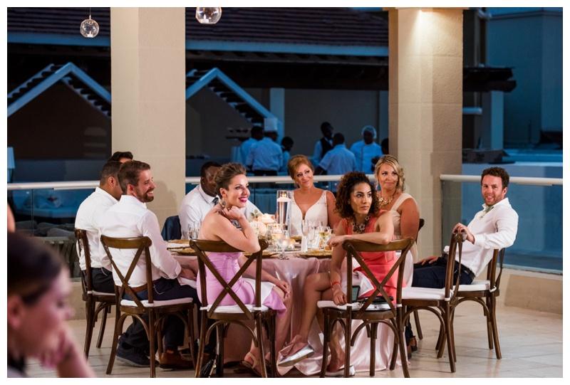 Dominicain Republic Now Larimar Destination Wedding- Reception