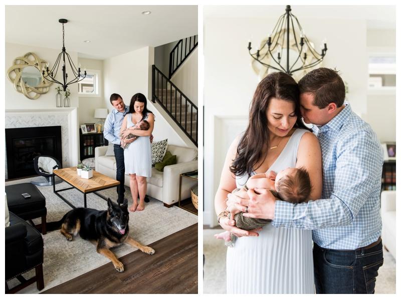 Newborn Family Photos Calgary