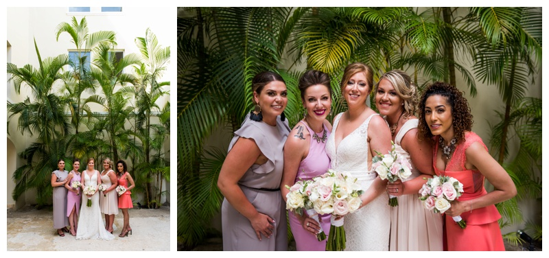 Now Larimar Destination Wedding Photography - Bridesmaid Photography
