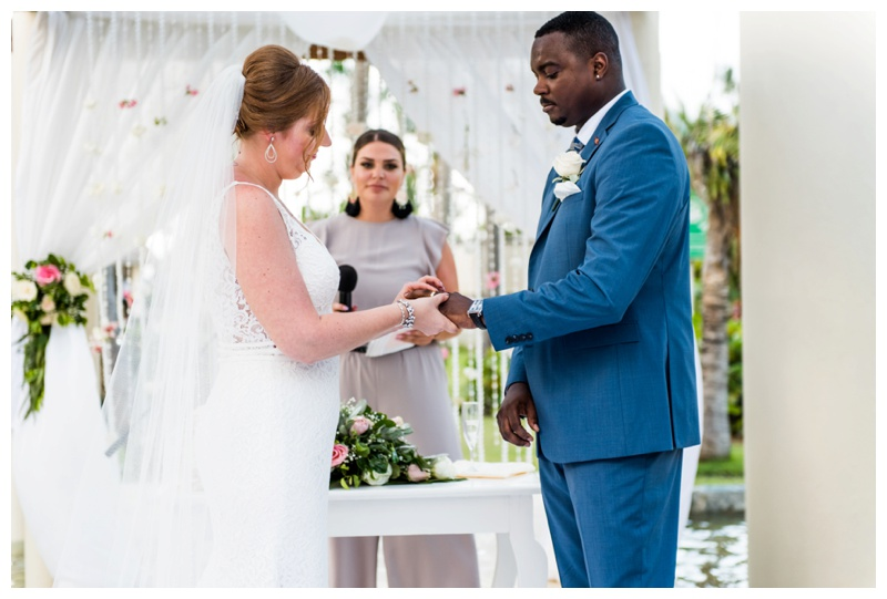 Wedding Ceremony -Destination Wedding Photographer - Now Larimar