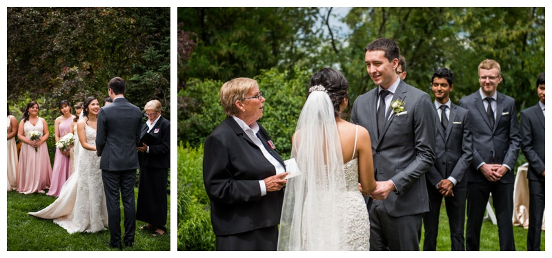 Calgary Wedding Ceremony - Reader Rock Garden Calgary Alberta