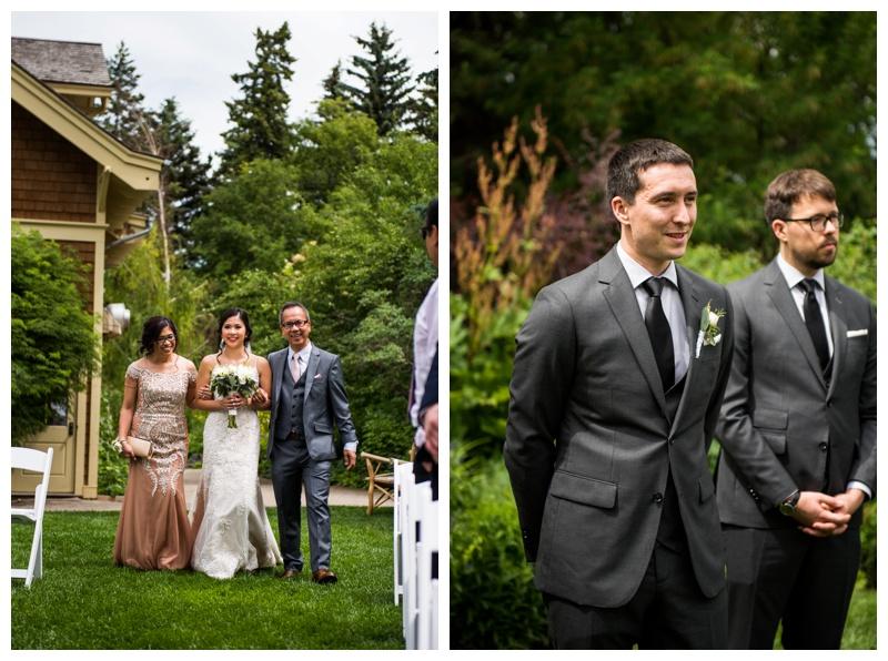 Calgary Wedding Ceremony - Reader Rock Garden