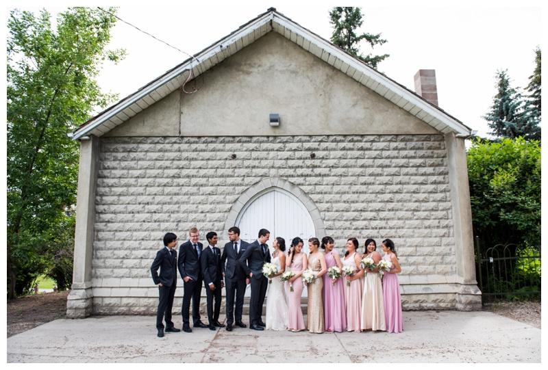 Calgary Wedding Photographer - Wedding Party Photography