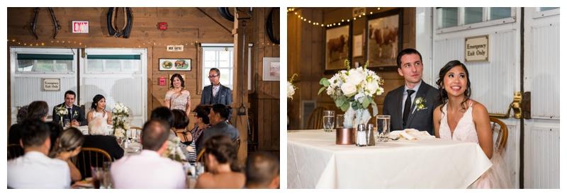 Calgary Wedding Reception Photos - Gunn's Dairy