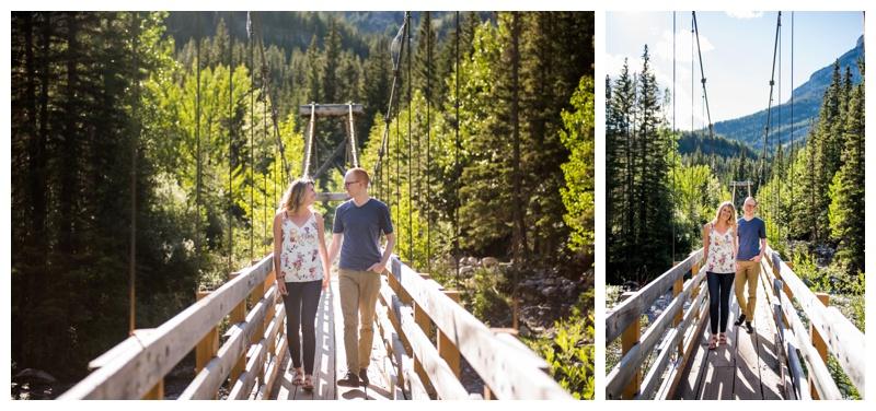 Galetea Trail Kananaskis Engagement Session