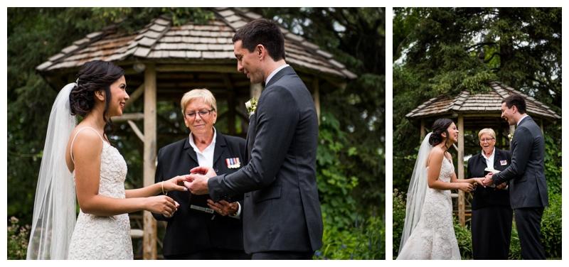 Wedding Photography Calgary - Reader Rock Garden Wedding Ceremony