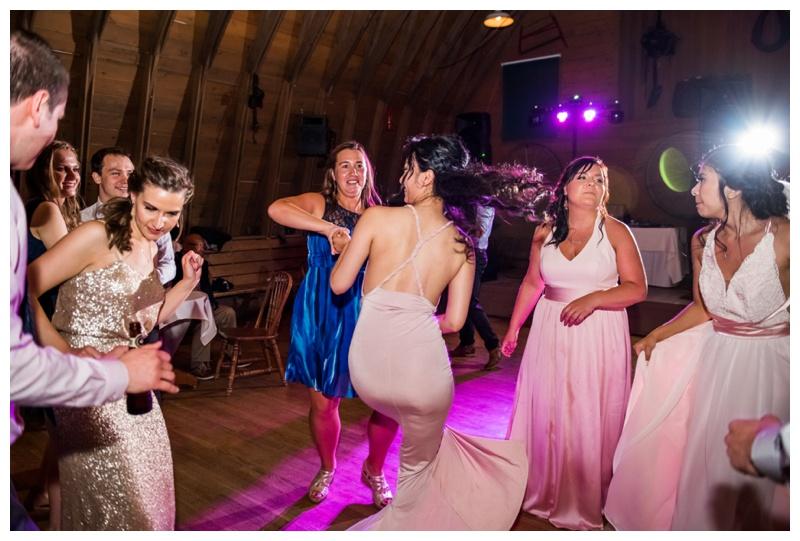 Wedding Reception Photography Calgary - Heritage Park Wedding