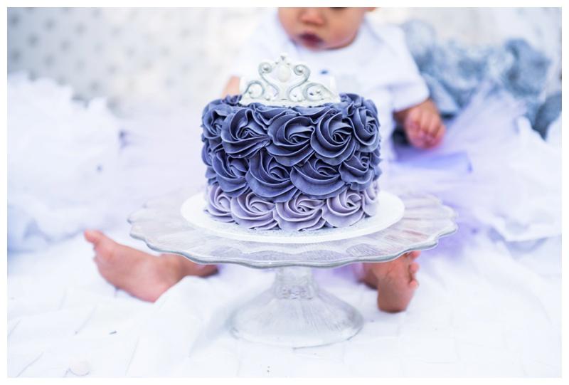 Calgary First Birthday Cake Smash