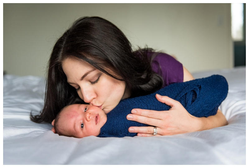 In Home Newborn Session Calgary