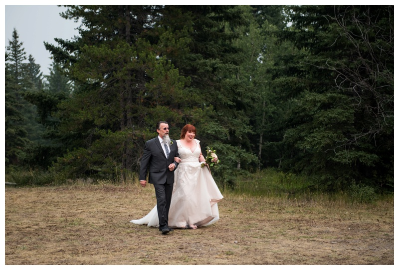 Canmore Wedding Ceremony Photography