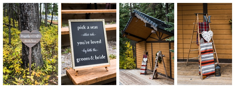 Bow Valley Campground Wedding Canmore Alberta