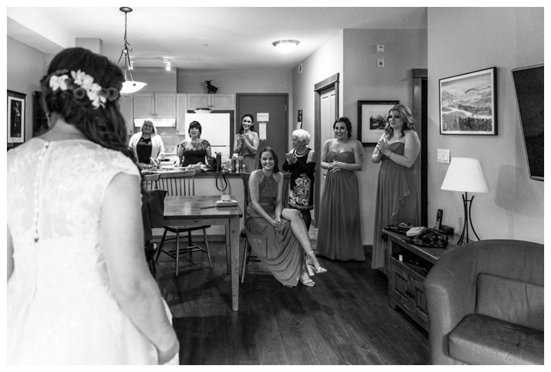 Canmore Weddings - Bridal prep Wedding Photography