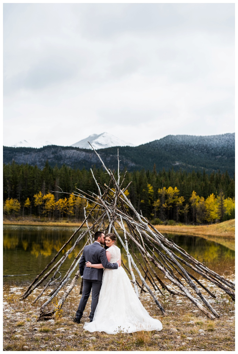 Kananaskis Fall Wedding Canmore