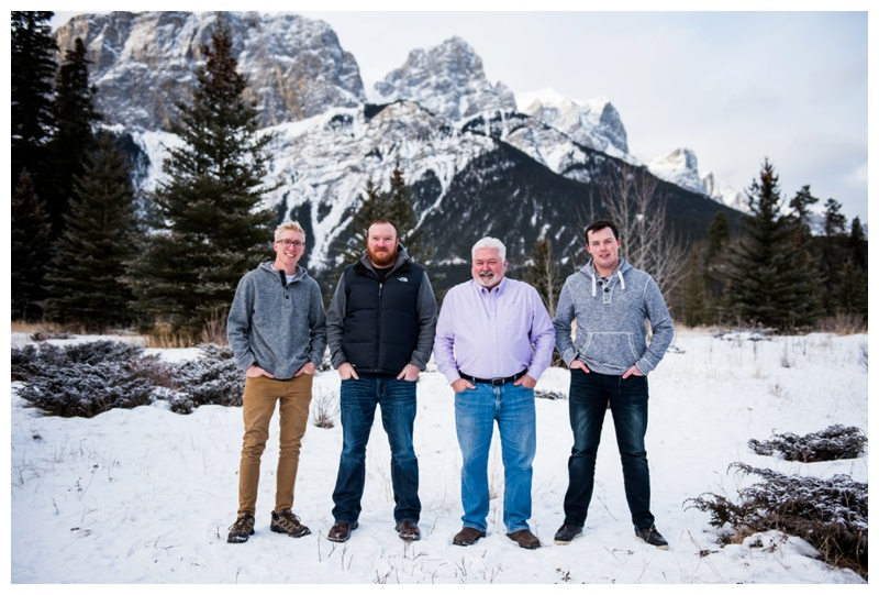 Canmore Family Photographer - Extended Family Photos