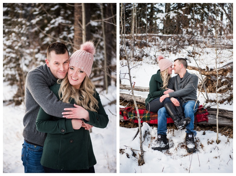 Winter Engagement Photography - Calgary Alberta
