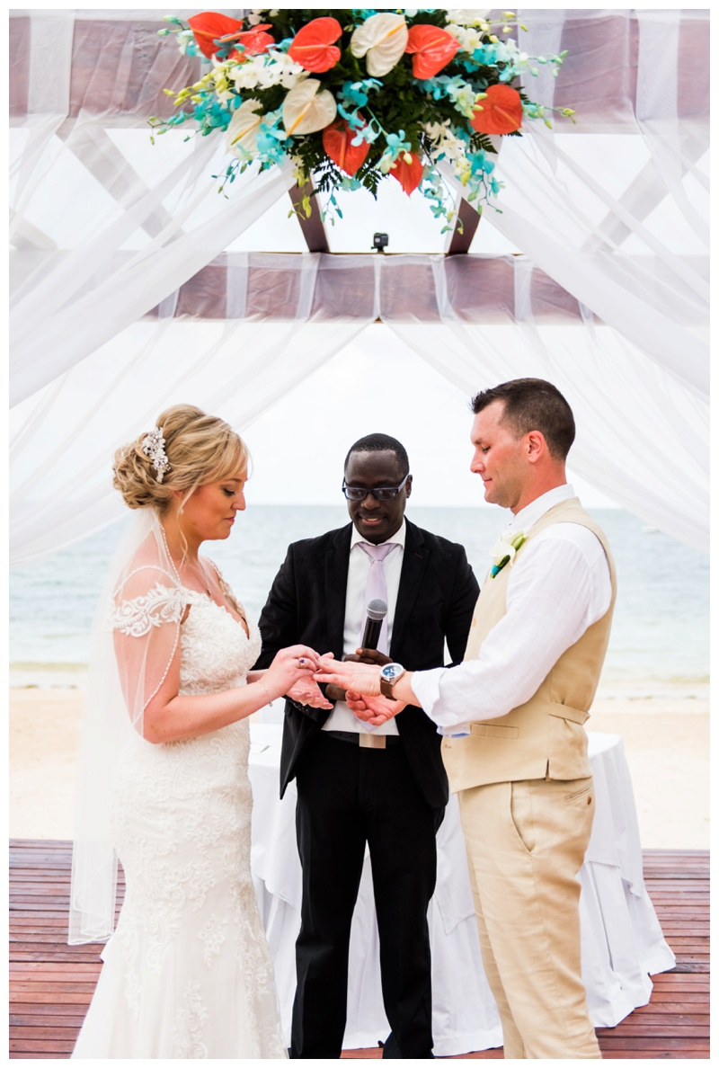 Beach Wedding Ceremony Photography - Iberostar Jamaica