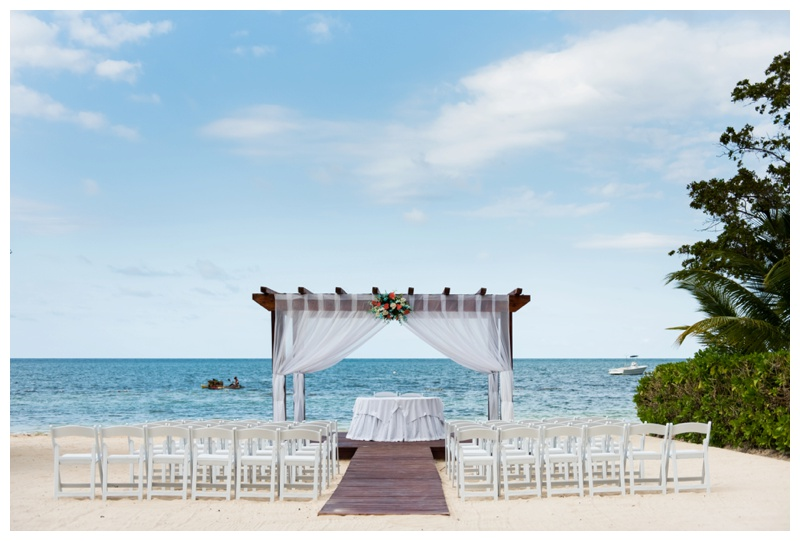 Jamaica Iberostar Destination Wedding Ceremony