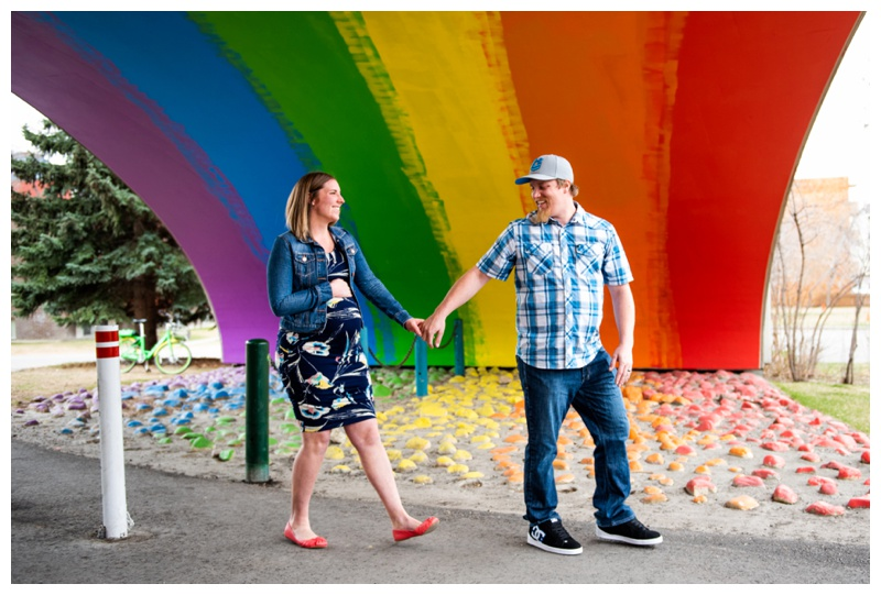 Rainbow Baby Maternity Photographer Calgary