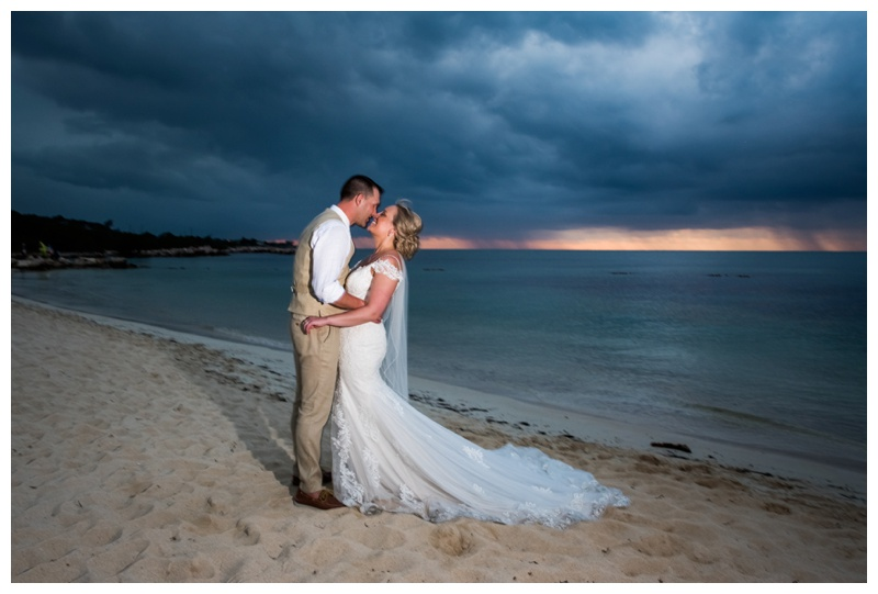 Sunset Beach Wedding - Calgary Destination Wedding Photographer