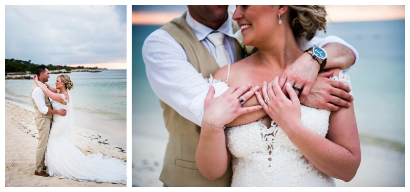 Sunset Beach Wedding Photos - Iberostar Jamaica Rose Hall