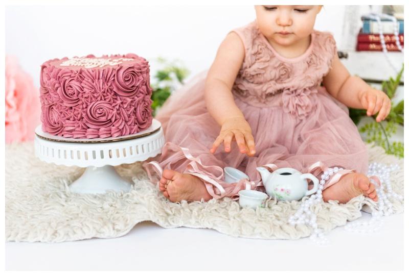 Cake First Smash Photographer Calgary