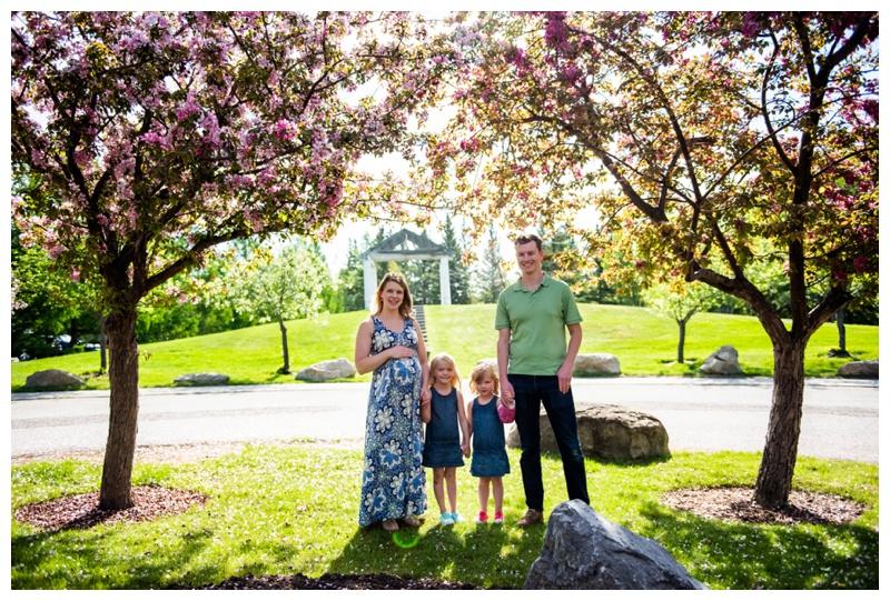 Calgary Cherry Blossom Family Session
