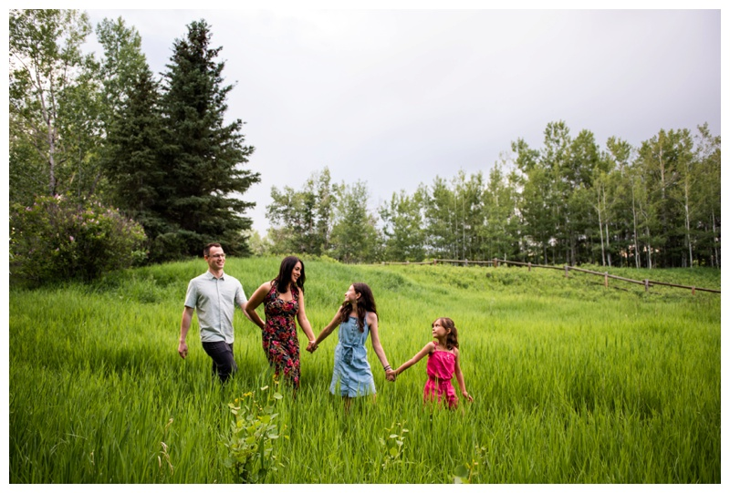 Calgary Fish Creek Park Family Session