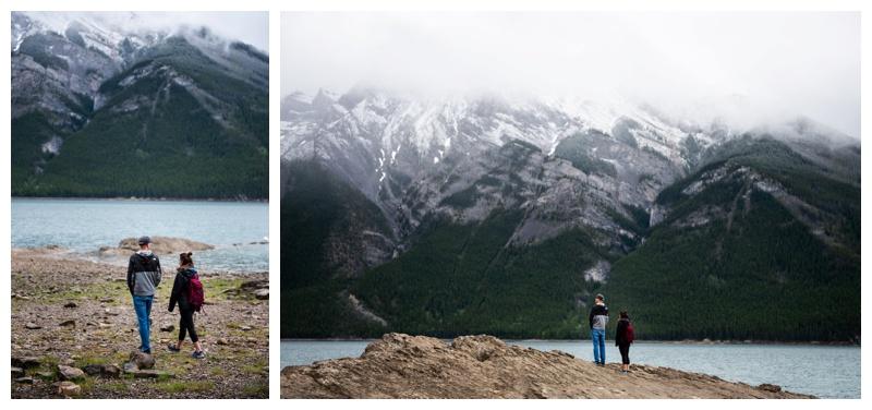 Lake Minniwanka Banff Proposal Photography
