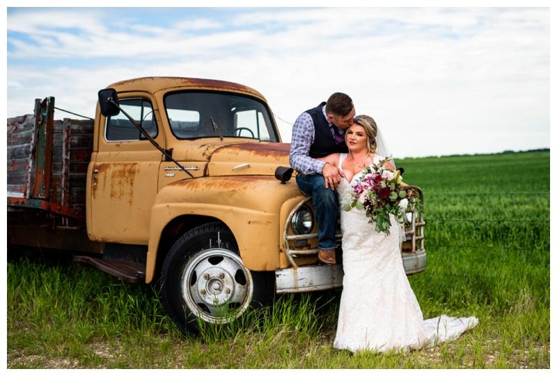 Alberta Barn Wedding Ceremony- Olds Alberta Willow Lane Barn