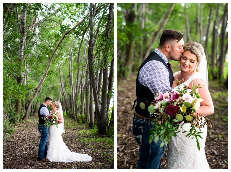 Alberta Barn Wedding Ceremony- Olds Willow Lane Barn