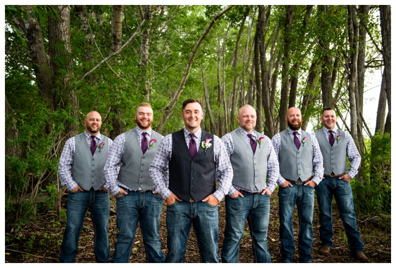 Alberta Barn Wedding Ceremony- Willow Lane Barn Olds