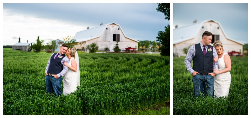 Alberta Barn Wedding - Willow Lane Barn Olds